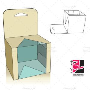 فایل کورل دایکات و برش جعبه و بسته بندی