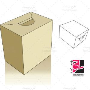 طرح کورل جعبه و بسته بندی جدید
