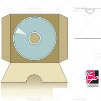 دانلود طرح برش و دایکارت پاکت DVD