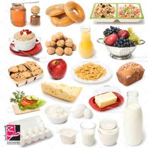 مجموعه تصاویر با کیفیت مواد غذایی
