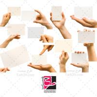 مجموعه تصاویر باکیفیت دست و اشاره به طرح