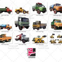 مجموعه عکس های باکیفیت ماشین های سنگین