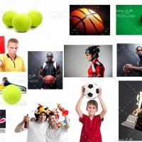 مجموعه تصاویر با کیفیت لوازم ورزشی