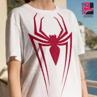 طرح تیشرت لوگو مرد عنکبوتی (Spider Man)