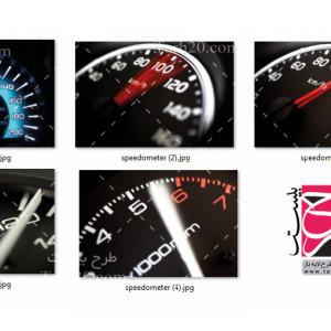 دانلود مجموعه تصاویر استوک کیلومترشمار خودرو