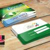 کارت ویزیت لایه باز خدمات کامپیوتری