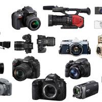 وکتور دوربین عکاسی و فیلم برداری