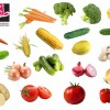 مجموعه وکتور سبزیجات با فرمت PNG