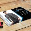 طرح لایه باز کارت فروشگاه لباس مردانه