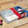طرح لایه باز کارت ویزیت تعمیرگاه