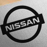 طرح لایه باز لوگو شرکت نیسان NISSAN