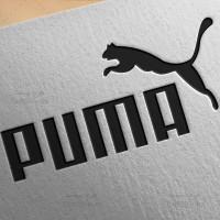 طرح لایه باز لوگو پوما PUMA