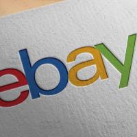 طرح لایه باز لوگو وبسایت ای بی ebay