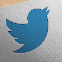 دانلود طرح لایه باز لوگو توییتر Twitter