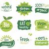 طرح وکتور اشکال ارگانیک و گیاهی