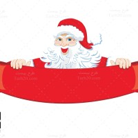 دانلود طرح لایه باز وکتور بابانوئل