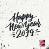 طرح وکتور تبریک سال نو میلادی ۲۰۱۹