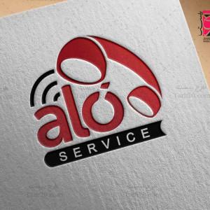 لوگو اختصاصی و حرفه ای ALO (نمونه ۴)