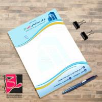 طرح لایه باز سربرگ شرکت عمرانی و ساختمانی