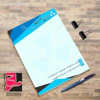 طرح لایه باز سربرگ شرکت تاسیساتی و صنعتی