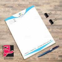 طرح لایه باز سربرگ اداری و رسمی شرکت