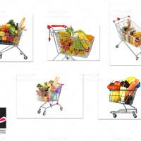 عکس های با کیفیت سبد خرید فروشگاه