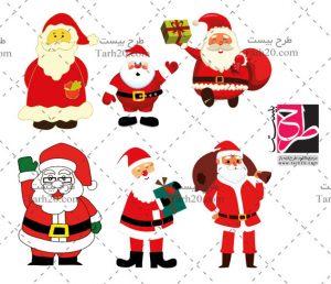 مجموعه تصاویر بابانوئل
