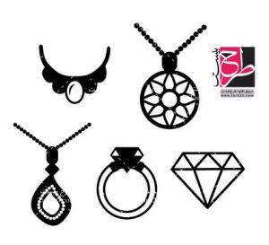 لوگو و آیکون جواهرات