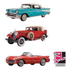 مجموعه تصاویر اتومبیل کلاسیک