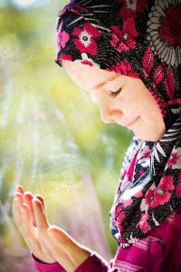 دعای کودک دختر