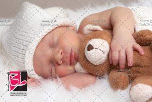 عکس با کیفیت نوزاد