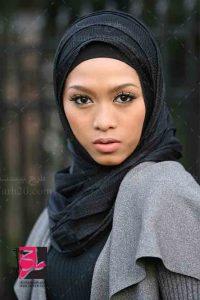 تصویر دختر با حجاب