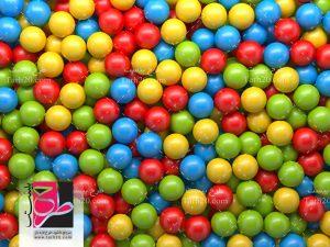 عکس توپ های رنگی