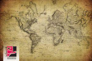 عکس نقشه قدیمی