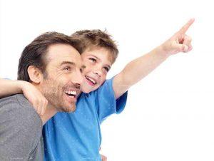 عکس پدر و پسر