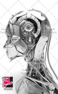 تصویر سر ربات