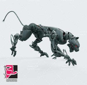 تصویر ربات حیوان