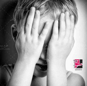 عکس بچه گریان