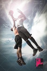 تصویر بازیکن بسکتبال