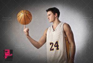 عکس بازیکن بسکتبال