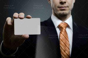 عکس نشان دادن کارت