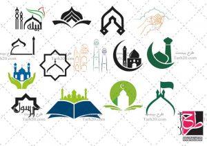 مجموعه لوگو مسجد