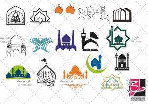 مجموعه وکتور مسجد