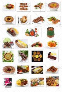 عکس کباب و غذای ایرانی