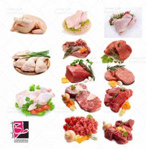 عکس های گوشت و مرغ