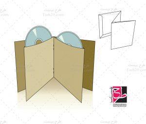 پاکت بسته بندی سی دی