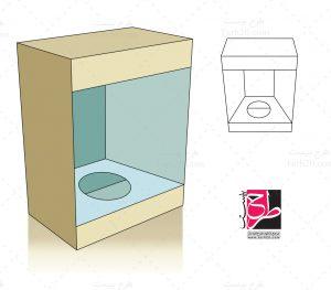 طرح قالب بسته بندی
