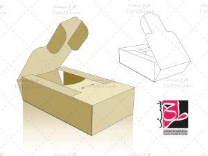 طرح دایکات جعبه بسته بندی