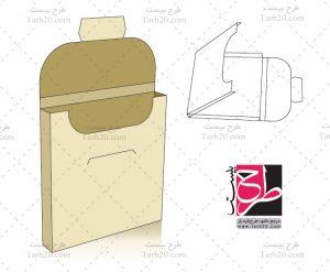 طرح قالب دایکات جعبه آدامس