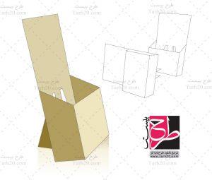 طرح قالب استند بسته بندی